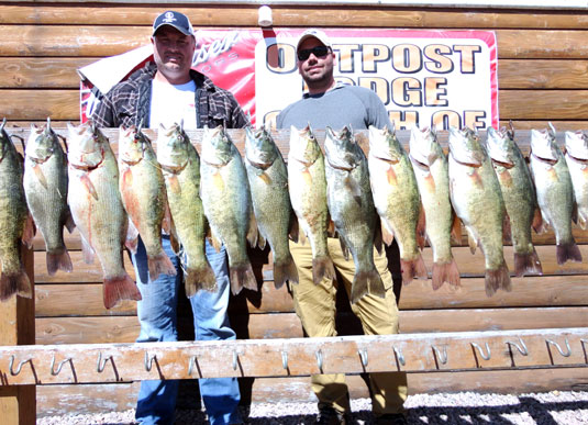 Fishing Report Lakes Oahe/Sharpe Pierre SD for Sept 15th 16th 17th 2014