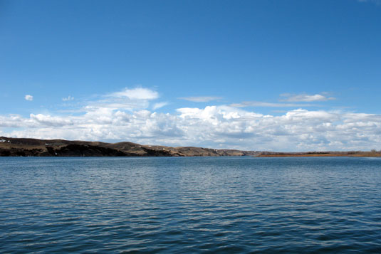LAKES OAHE/SHARPE PIERRE AREA FISHING REPORT APRIL 1ST TO 7TH 2014