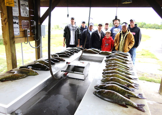 Fishing Report Lakes Oahe/Sharpe Pierre area for the 11th thru the 14th September 2014