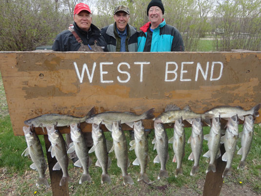 Lakes Oahe/Sharpe Pierre SD area fishing report for April 25 thru May 3rd 2014