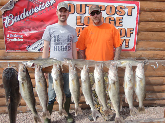 Lakes Oahe/Sharpe Pierre area fishing report for May 15th thru May !8th 2014