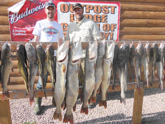 Lakes Oahe/Sharpe Pierre area fishing report for May 18th 19th and 20th 2014