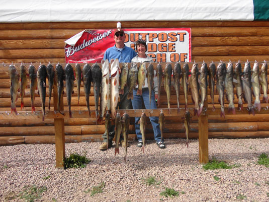 Lakes Oahe/Sharpe Pierre area fishing report for May 21 thru 25th 2014