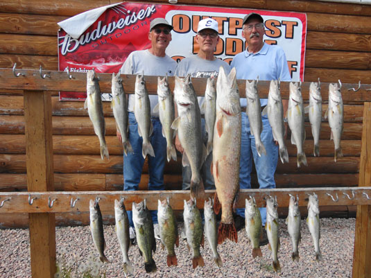 Lakes Oahe/Sharpe Pierre SD fishing report for May 26th thru 29th 2014