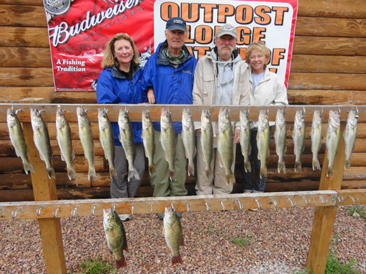 Lakes Oahe/Sharpe Pierre area fishing report for May 30th, 31th and June 1st, 2nd, and 3rd 2014
