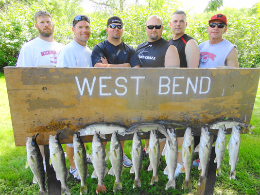 Lakes Oahe/Sharpe Pierre area fishing report for 7th ,8th. and 9th 2014