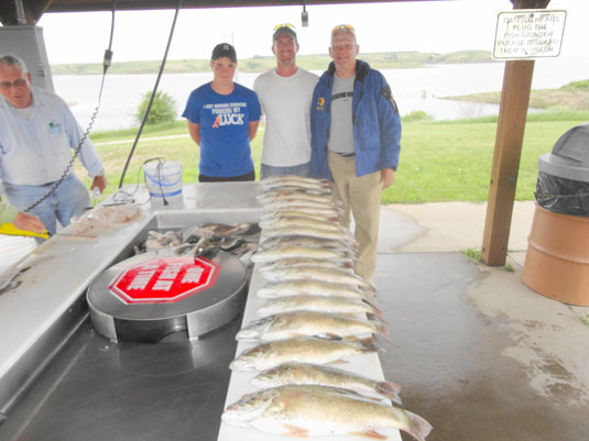 Lakes Oahe/Sharpe Pierre area fishing report for June 10th thru June 17th 2014