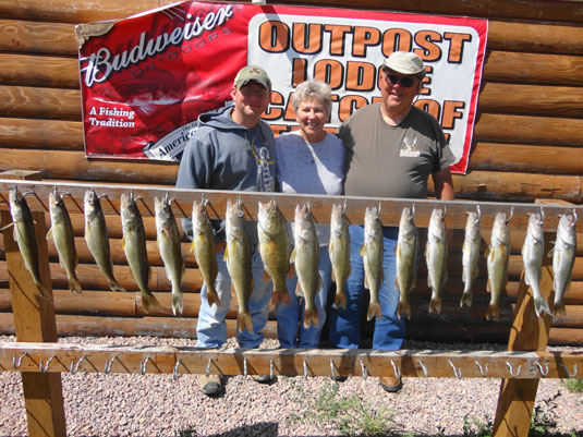 Hutch's Guide Service Fishing Reports.