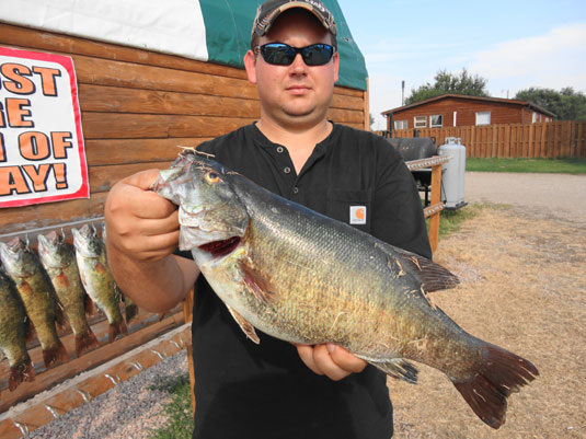 Fishing Report Lakes Oahe/Sharpe Pierre SD area for Sept 18th and 19th 2014