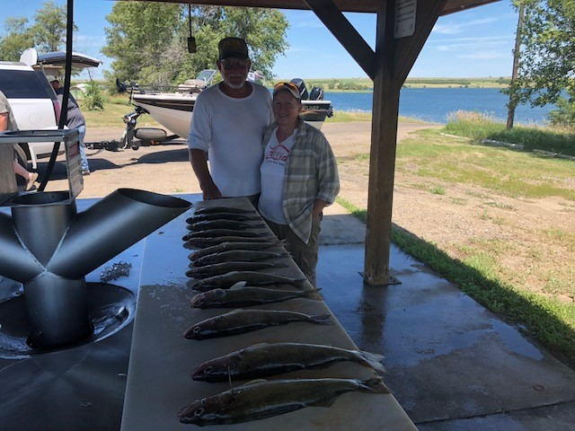 FISHING REPORT LAKES OAHE/SHARPE PIERRE AREA FOR JULY 13TH THRU THE 16TH 2018