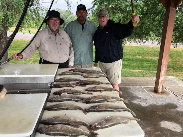 FISHING REPORT LAKES OAHE/SHARPE PIERRE AREA FOR JULY 17TH THRU THE 20TH 2018