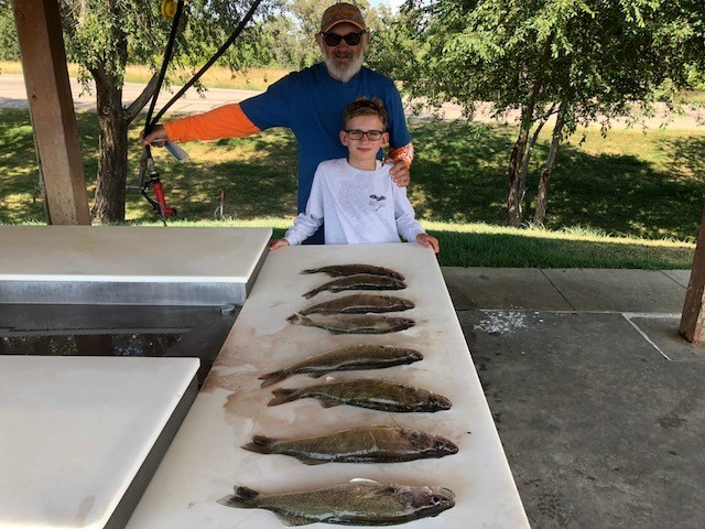 FISHING REPORT LAKES OAHE/SHARPE PIERRE AREA AUGUST 12TH THRU AUGUST 18TH 2018