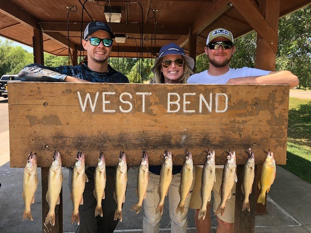 FISHING REPORT LAKES OAHE/SHARPE PIERRE AREA JULY 21 THRU AUGUST 1ST 2018