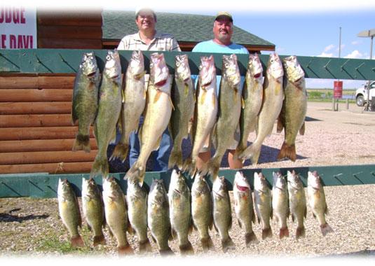Hutch 39 s guide service fishing lake oahe lake sharpe for The fish omaha